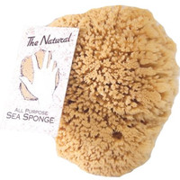 The Natural Sea Sponge, 8 to 9-Inch, Yellow