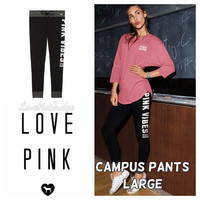 VS PINK Campus Pants Large