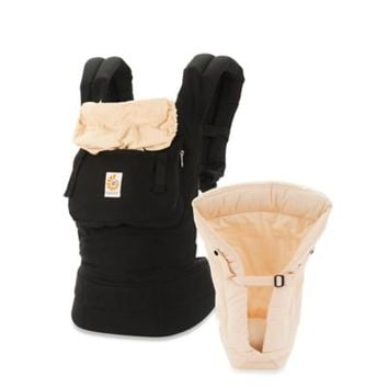 Ergobaby™ Original Collection Bundle of Joy Baby Carrier in Black/Camel