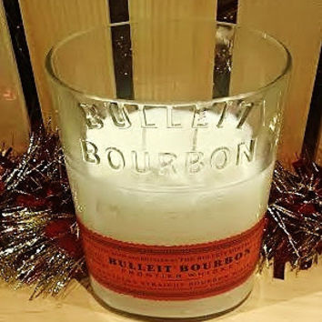 Fireside Fragrance- Bulleit Bourbon Bottle Soy Candle