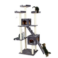 Domestic Delivery Luxury Cat Furniture Cat Jumping Toy Ladder Wood Scratching Post Climbing Tree for Cat Climbing Frame