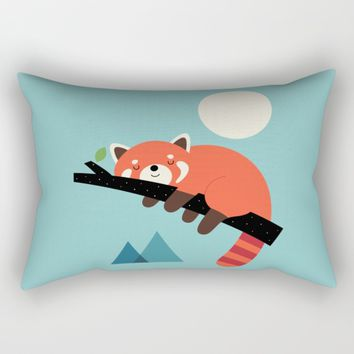 Nap Time Rectangular Pillow by Andy Westface