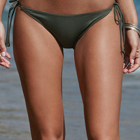 LA Hearts Ribbed Tie Side Bikini Bottom at PacSun.com