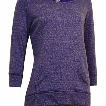 Style & Co Women's Basic Kangaroo Pocket Sweater