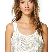 Nasty Gal Golden Temple Crop Tank