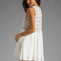 Wish Serene Dress in White Embroidery from REVOLVEclothing.com