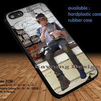The Walking Dead Carl Grimes Quote DOP1149 iPhone 6s 6 6s+ 5c 5s Cases Samsung Galaxy s5 s6 Edge+ NOTE 5 4 3 #movie #walkingdead