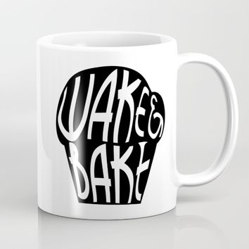 Wake & Bake  Mug by FrankieD