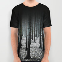 Coma forest All Over Print Shirt by happymelvin