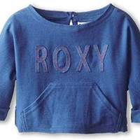 Roxy Kids Girl's Sandyland Sweatshirt (Toddler/Little Kids/Big Kids) Federal Blue Sweatshirt