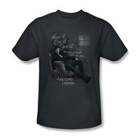 Vampire Diaries - Mens Be Yourself T-Shirt In Charcoal