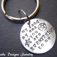 You are my everything keychain gift for boyfriend