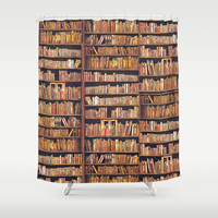 Read to live, live to read. Shower Curtain by anipani