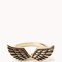 Etched Wings Ring   FOREVER 21 - 1054783365