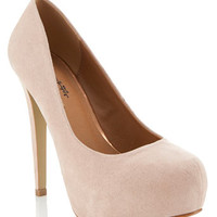Sassy Nude Court Shoe - View All  - Going Out