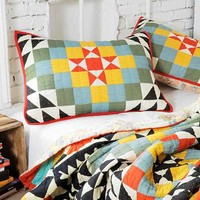 Magical Thinking Kaleidoscope Sham Set- Multi One