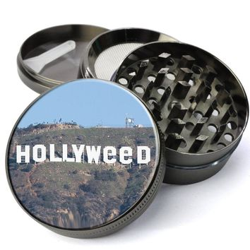 Hollywood Sign Vandalized Extra Large 5 Piece Spice & Herb Grinder