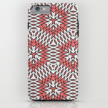 Abstract Geometric Pattern iPhone & iPod Case by Cinema4design