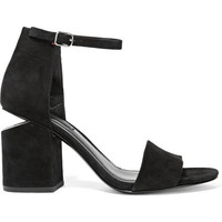 Alexander Wang - Abby cutout suede sandals