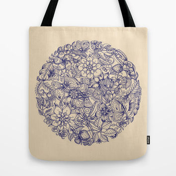Circle of Friends Tote Bag by micklyn