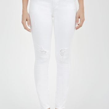 White Sarah Skinny Denim