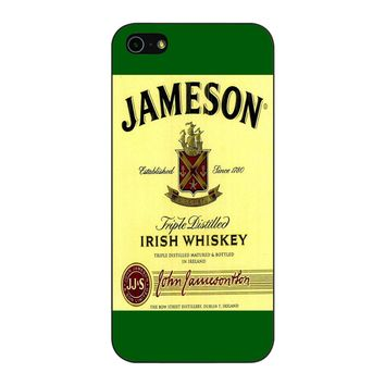 Jameson Wine Irish Whiskey iPhone 5/5S/SE Case