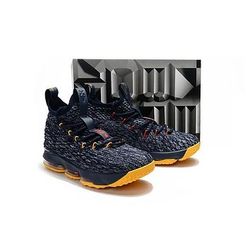 Nike LeBron James 15 XV Navy Basketball Shoe US7-12
