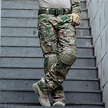 Camouflage Military Tactical Pants Army Military Uniform Trousers