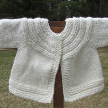 Wool & Alpaca Baby Sweater