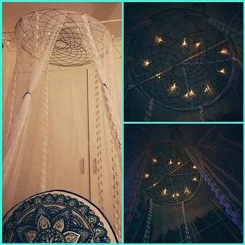 Dream catcher bed canopy