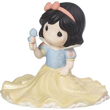 """Life Goes Along With A Smile And A Song"", Disney Snow White Figurine/Cake Topper, Porcelain"