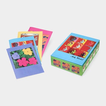 Andy Warhol Icons Note Card Box