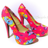 My Little Pony Pink Heels- Friendship is magic
