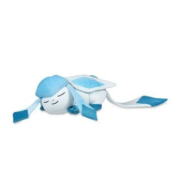 Sleeping Glaceon Poké Plush - 18 In.