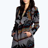 Sally Waterfall Blanket Coat