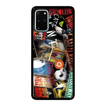 BROADWAY MUSICAL COLLAGE Samsung Galaxy S20 Plus Case Cover