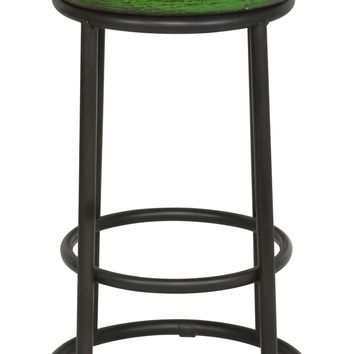 Classic Home Jaden Reclaimed Wood & Iron Counter Stool | Nordstrom