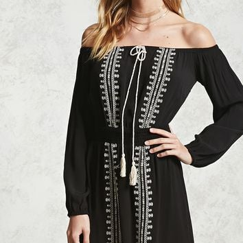 Contemporary Embroidered Dress - Women - Dresses - 2000206546 - Forever 21 Canada English