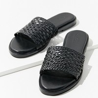Basket Weave Slide | Urban Outfitters