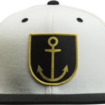 AMBIG CAPTAIN SNAP BACK HAT | Swell.com