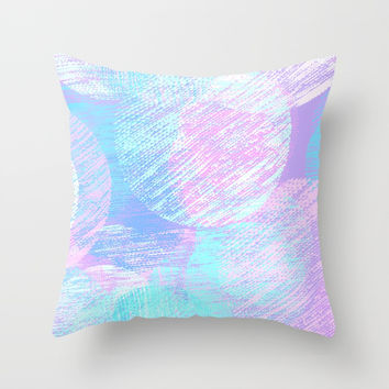 Cosy Circles || 3 Throw Pillow by bitart