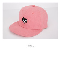 cute bulldog snapback