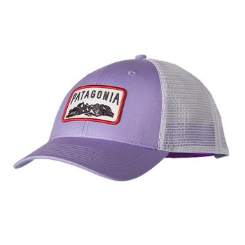 Patagonia Climb A Mountain LoPro Trucker Hat | Ploy Purple