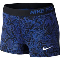 Nike Women's 3'' Pro Vixen Heights Printed Compression Shorts