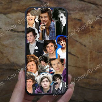 Harry styles collage iphone case,phone case,galaxy S5 case,iPhone 5C 5/5S 4/4S,samsung galaxy S3/S4/S5,Personalized Phone case