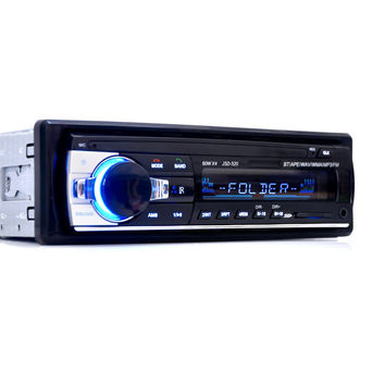 Promotion Original Car Radio Bluetooth V2.0 Car Stereo Audio Player In-dash Single Din Mp3 Player USB MP3 MMC WMA Radio Player
