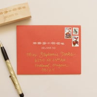 Deliver To Native Stamp