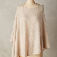 White and Warren Cashmere Poncho