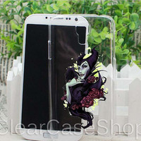 Maleficent for iphone 4 case, iphone 5 case, samsung s3 case, samsung s4 case cover in clearcaseshop