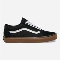 Vans Old Skool Gumsole Mens Shoes Black/Khaki  In Sizes